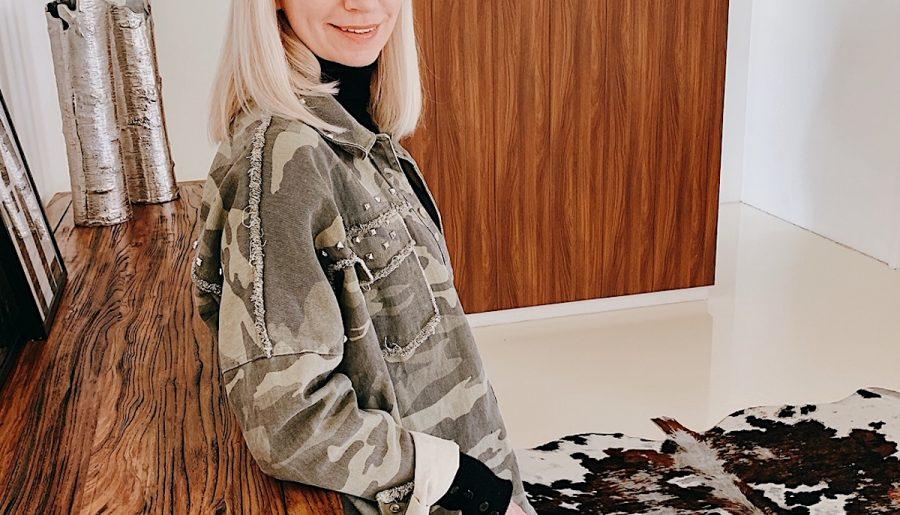 Die Camouflage Jacke